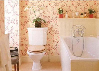 Papel Pintado En Baños | Disenos Papel Pintado Para Banos Brico Ofertas