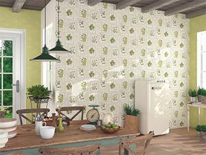 Papeles pintados para cocinas y ba os brico ofertas - Papeles pintados para banos ...