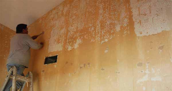 C mo preparar una pared para papel pintado brico ofertas for Papel pintado oferta