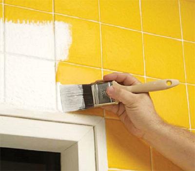 pintura de azulejos